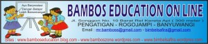 BANNER BAMBOS EDUCATION ON LINE